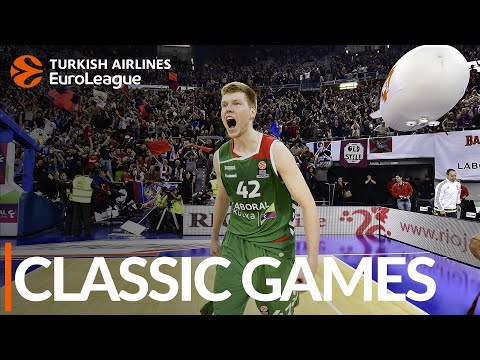 Classic Games: 2015-16, Top 16, Round 13, Baskonia vs. Real