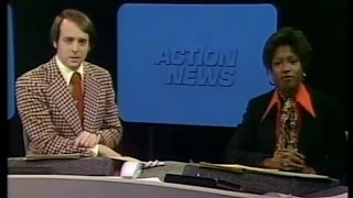 """WSB-TV's """"Action News"""" At 6:00pm - January 23, 1976"""