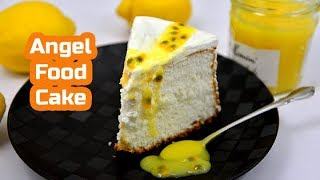 Mary Berrys Angel Food Cake With Lemon Curd | #GBBO S04E01 | Cakes Week