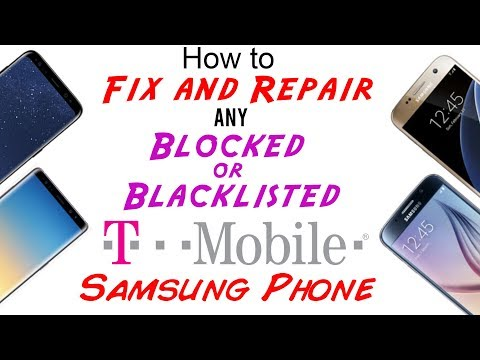 Blacklisted Imei Fix