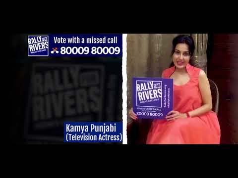 Kamya Punjabi for Rally for Rivers