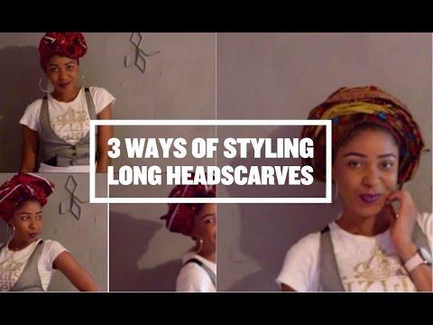 3 Different Ways Of Tying Head Scarf (Anakara)