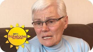 78-Jährige auf Gleise geschubst! Wer kennt Ingrids Lebensretter? | SAT.1 Frühstücksfernsehen | TV