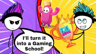 What if a Rich Gamer buys School