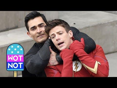 The Flash Vs Superman! ⚡️ Vs 👊 #SpoilerAlert • Celebrity