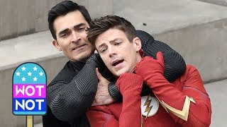 The Flash Vs Superman Elseworlds Season 5 Finale