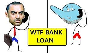 WTF Bank Loan : Halkat Call 7 | Angry Prash