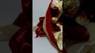 Букет из конфет Ferrero Rocher и 5  мишек от компании Букеты из Игрушек и Конфет от Okl Оригинальные Подарки - видео