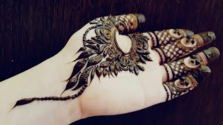 Video Quick And Simple Front Side Henna Design For Eid 2017