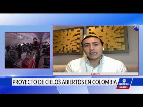"""Senador Aguilar explicó el proyecto de """"Cielos Abiertos"""" en Cablenoticias"""