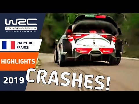 WRC - Tour de Corse 2019: Rally Crash Compilation