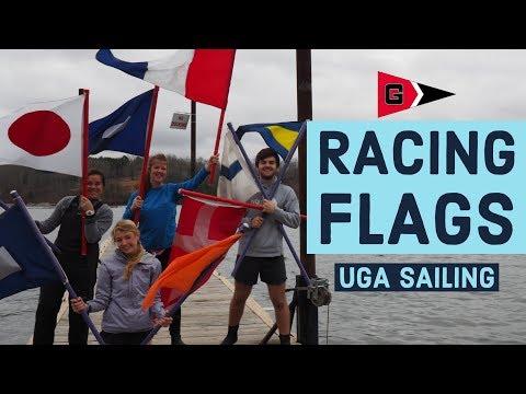 UGA Sailing: Racing Flags