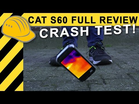 2018 CAT S60 Härtetest: CRASH & im Kanal versenkt! Wärmebildkamera Handy Review | Test (Deutsch)