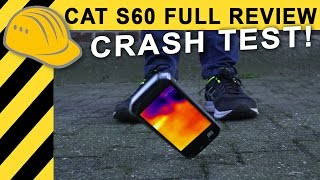 CAT S60 Härtetest: CRASH & im Kanal versenkt! Wärmebildkamera Handy Review | Test (Deutsch)