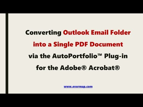 How to save Outlook emails as PDF - 4D VIDEO