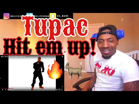 Ja Rule can never be him!    2Pac - Hit 'Em Up   REACTION