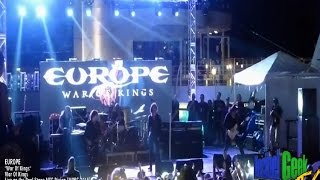 Europe - War Of Kings: Live on the Pool Stage MSC Divina (MORC 2015)