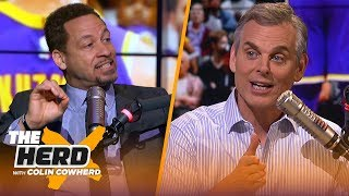 Chris Broussard and Colin have a mock All-Star draft, Talk Lakers' win vs T-Wolves | NBA | THE HERD