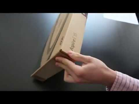 Acer Aspire E5-511 Unboxing