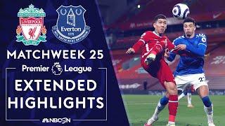 Liverpool v. Everton | PREMIER LEAGUE HIGHLIGHTS | 2/20/2021 | NBC Sports