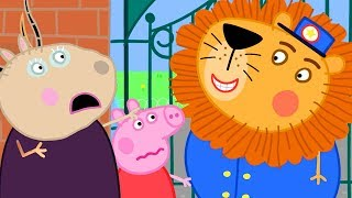 Peppa Pig Official Channel 🦁 A Lion has Escaped from the Zoo - Peppa Pig Visits the Zoo