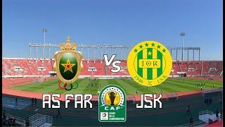 CAF CC | Tour préliminaire Aller : FAR Rabat 0 – 1 JS Kabylie