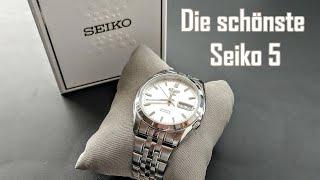 Seiko 5 SNK355K1 || Die schönste Seiko 5 || im Rolex Oyster Perpetual Datejust Stil