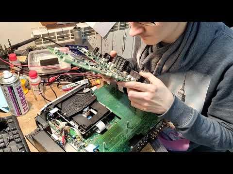 Принесли в ремонт элитный CD проигрыватель LINN Unidisk CS