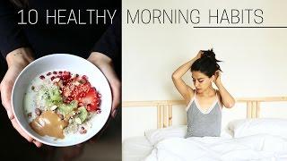 HEALTHY MORNING HABITS » + printable checklist