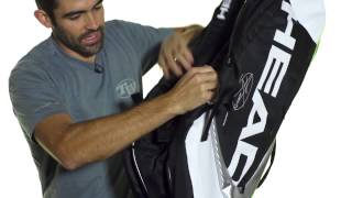 Head Djokovic 12R Monstercombi Bag  video