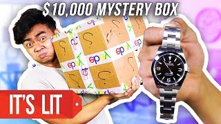 What's Inside a $10,000 Ebay Mystery Box?! (ROLEX WATCH)
