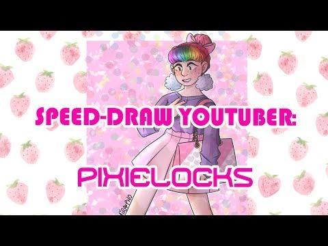 Pixielocks [Jillian Vessey] | Youtuber | Speed Draw