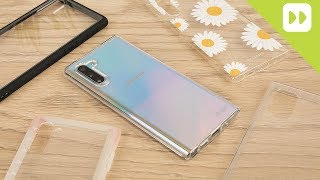 Top 5 Best Samsung Galaxy Note 10 Clear Cases