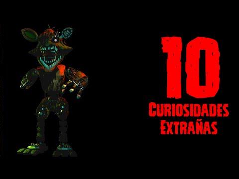 TOP 10: 10 Curiosidades Extras De Phantom Foxy En FNAF3
