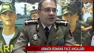 ARMATA ROMÂNĂ FACE ANGAJĂRI