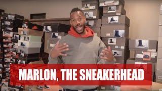 Marlon's Sneaker Collection ( Part 1)   Marlon Wayans