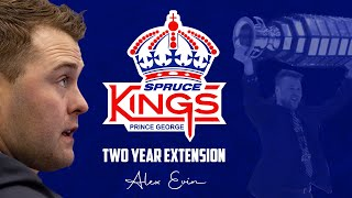Alex Evin Signs Two Year Extension With Prince George