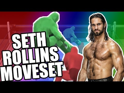 GRUPO DE MOVIMIENTOS Y ENTRADA DE SETH ROLLINS - Moveset and entrance Seth Rollins svr 2011