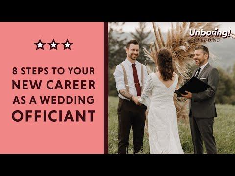 Start a New Career as a Professional Wedding Officiant (A Mini-Class!)