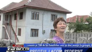 PREOTUL LACOM, PEDEPSIT