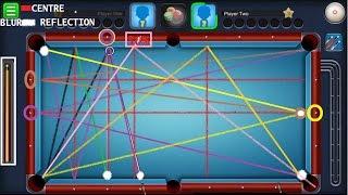 8 Ball Pool Cushion Shot Tutorial   Bank Shot / Indirect Shot Tutorial   How to bank shot?