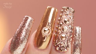 Rose Gold Chrome And Gems - Pro Tips