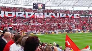 preview picture of video 'Choreographie Leverkusen - Freiburg - Choreo am 1. Spieltag'