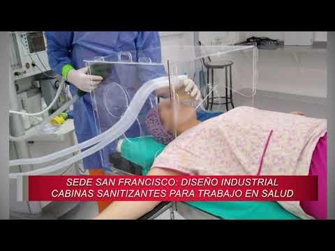 Panorama Universitario 14/05/2020 Cabina sanitizante - Valentina Sánchez