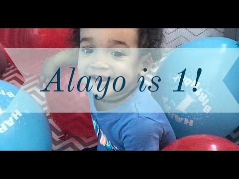 Alayo is 1! ~ Vlog