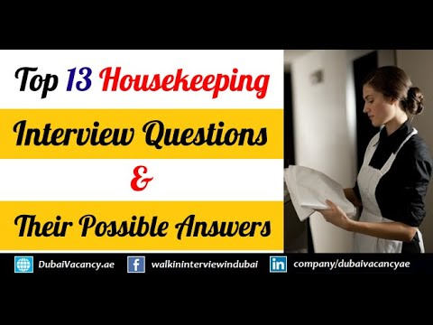 mp4 Housekeeping Questions And Answers, download Housekeeping Questions And Answers video klip Housekeeping Questions And Answers