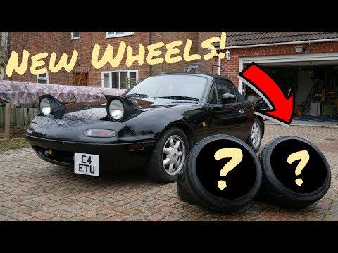 NEW WHEELS! | Mazda MX5 Miata Mk1