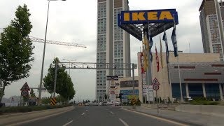 #19 В Анкару на машине. Стоимость бензина в Анкаре. Едем в Торговый Центр Вега. Анкара своим ходом
