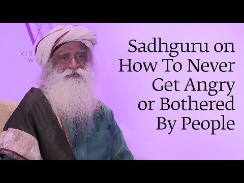 How to Avoid Anger: A Wise Guru Explains