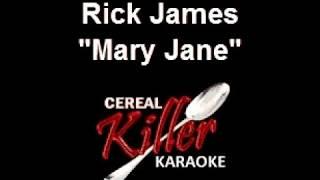 CKK - Rick James - Mary Jane (Karaoke) (Vocal Reduction)